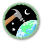 Worldbuilding Merit Badge by Merit Badger