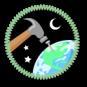 Worldbuilding Merit Badge by Merit Badger
