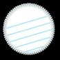 Blank Page Conqueror Merit Badge by Merit Badger
