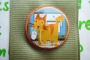 "Feline ""Assistance"" Badger Scout Badge by Merit Badger"