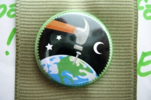 Worldbuilding Badger Scout Badge by Merit Badger