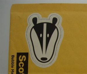 Badger Sticker by Merit Badger