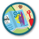 Summer Reading Merit Badge by Merit Badger