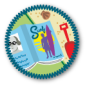 Summer Reading Badge by Merit Badger